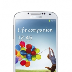 Frontal del Samsung Galaxy S4 Blanco