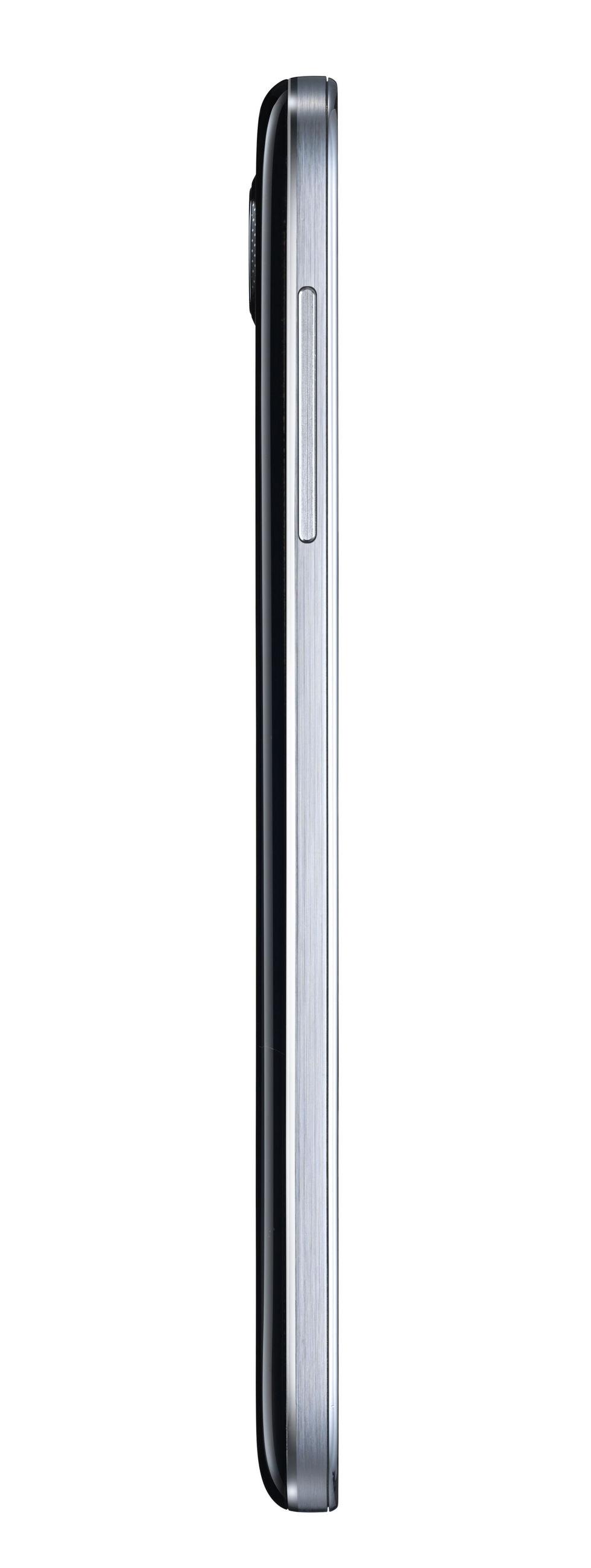 Lateral izquierdo del Samsung Galaxy S4 Negro