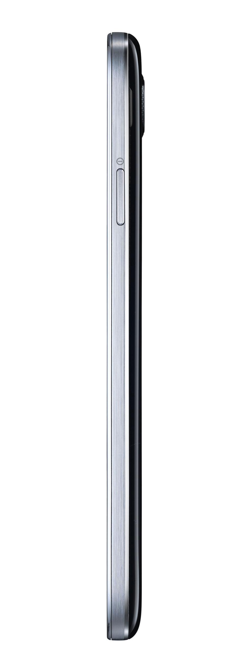 Lateral derecho del Samsung Galaxy S4 Negro