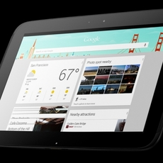 Perspectiva frontal Nexus 10
