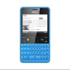 Nokia Asha 210 en azul