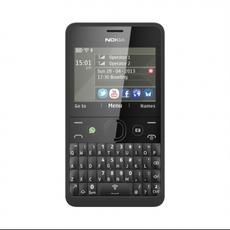 Nokia Asha 210 en negro