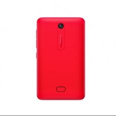 Trasero del Nokia Asha 501 Rojo