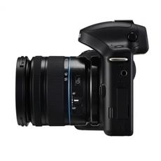 Vista lateral de Samsung GALAXY NX