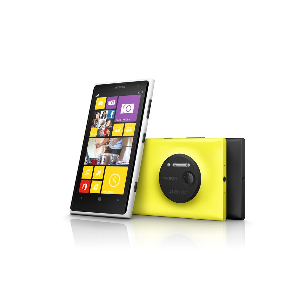 Los 3 colores del Nokia Lumia 1020