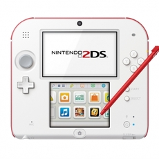 Frontal Nintendo 2DS roja