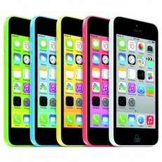 Los 5 colores de iPhone 5C