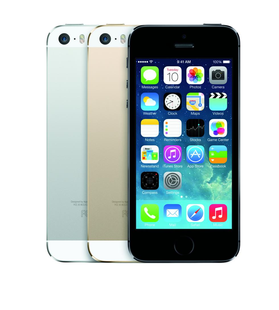 Los 3 colores de iPhone 5S
