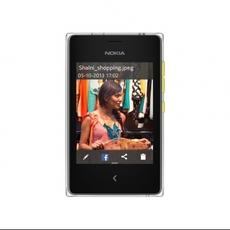 Frontal del nuevo Nokia Asha 502