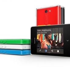 Vista conjunta de los nuevos colores del Nokia Asha 502