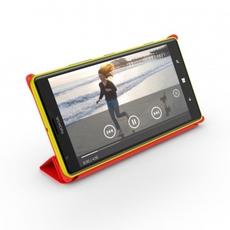 Nokia 1520 en su funda roja