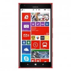 Interfaz gráfica del Nokia Lumia 1520 en su versión roja