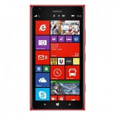 Vista frontal de la nueva interfaz del Nokia 1520