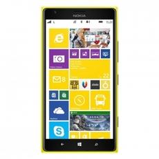 Interfaz gráfica del Nokia Lumia 1520 en su versión amarilla