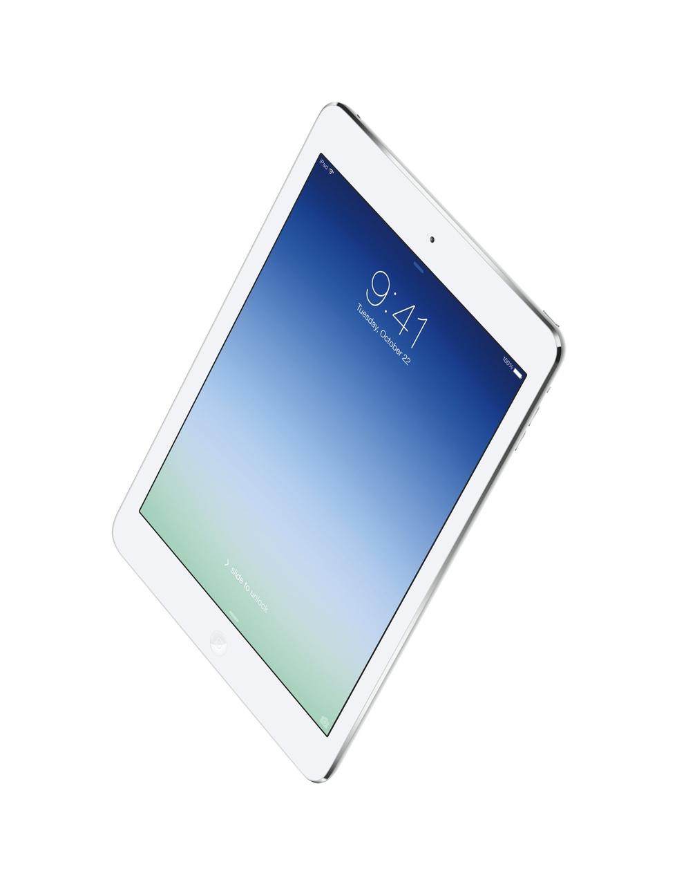 Vista frontal del iPad Air