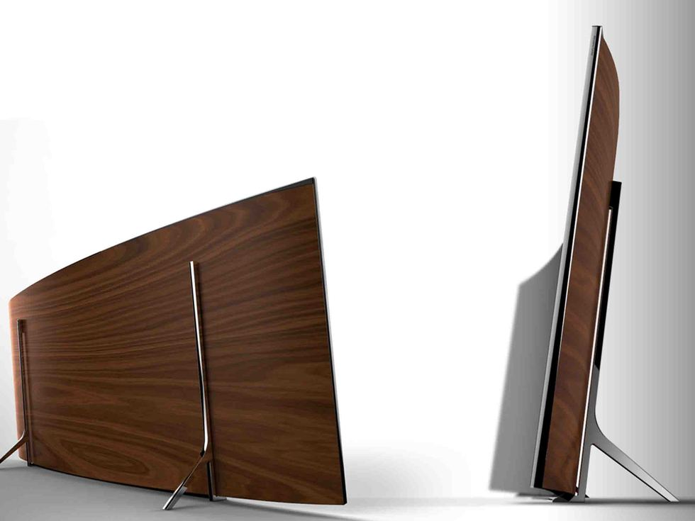 Trasero Samsung 105' Curved UHD TV