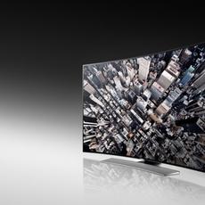Frontal Samsung U9000 Curved UHD TV