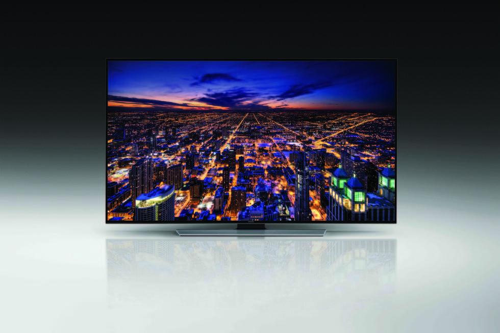 Frontal Samsung U8550 UHD TV