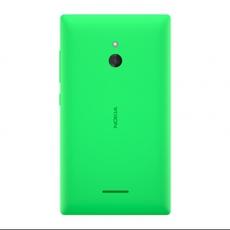Vista trasera del Nokia XL en verde