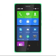 Menú de inicio del Nokia XL