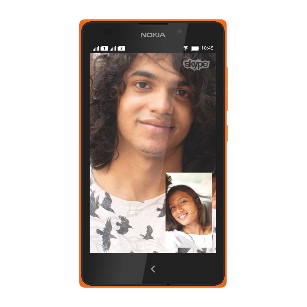 Skype en el Nokia XL