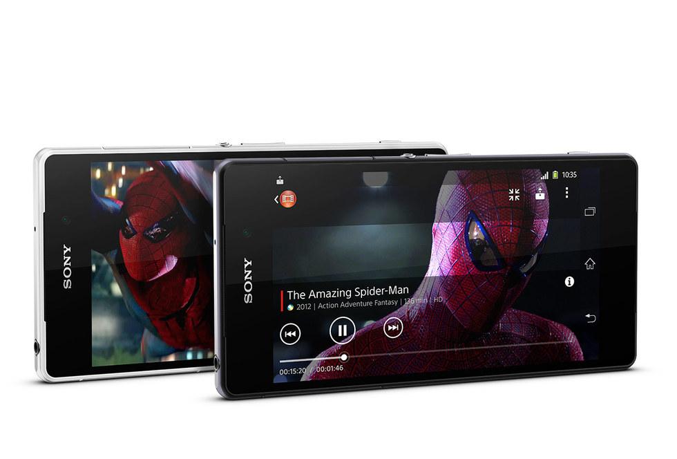Vídeo en Sony Xperia Z2