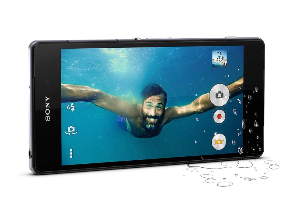 Sony Xperia Z2 a prueba de agua