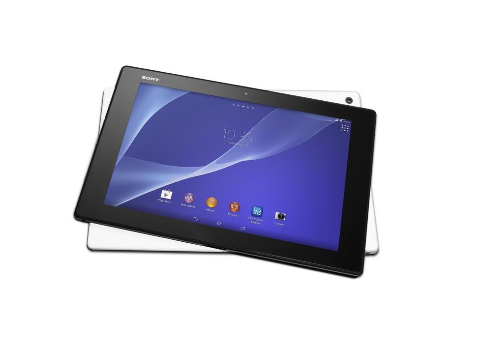 Los dos colores de Sony Xperia Z2 Tablet