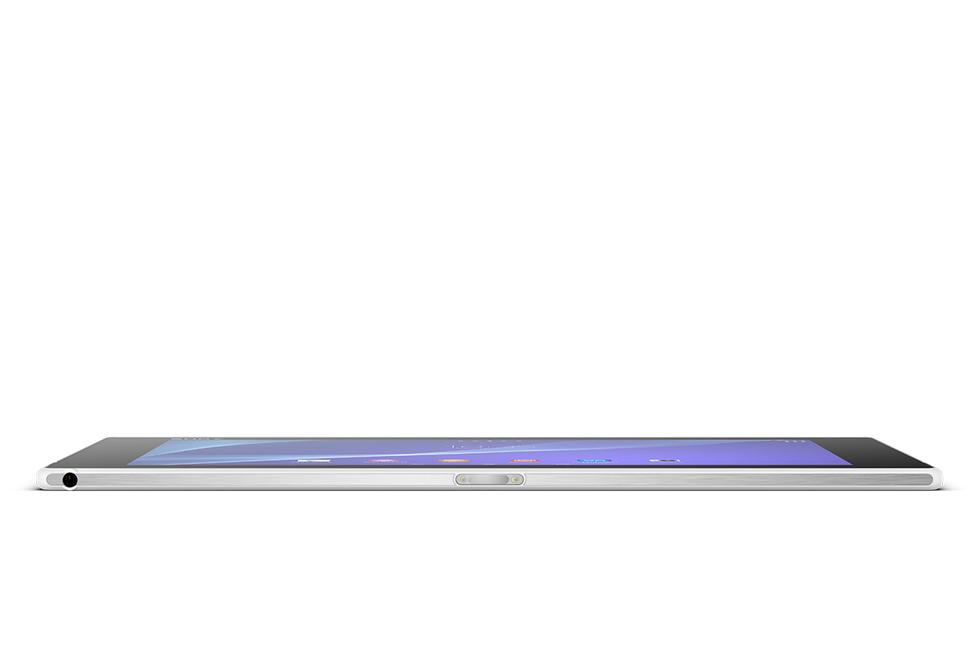 Perfil Sony Xperia Z2 Tablet