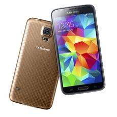 Samsung Galaxy S5 en dorado