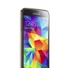 Samsung Galaxy S5 de lado