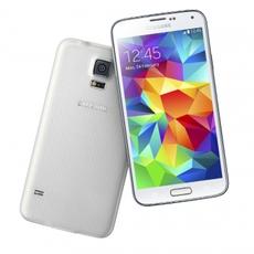 Samsung Galaxy S5 en blanco
