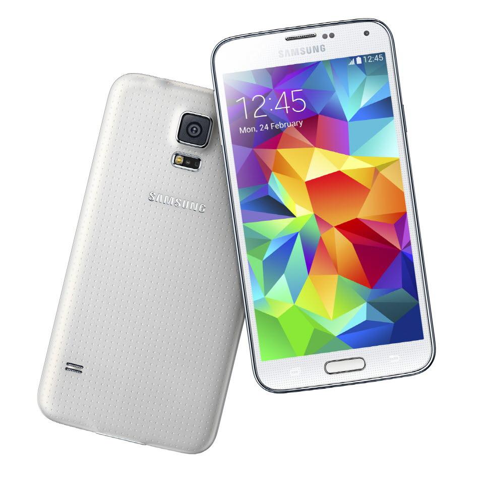 Samsung Galaxy S5 en blanco: Samsung Galaxy S5