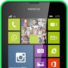 Nokia Lumia 635 en verde