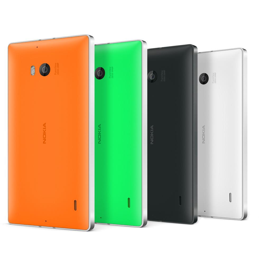 La familia Nokia Lumia 930