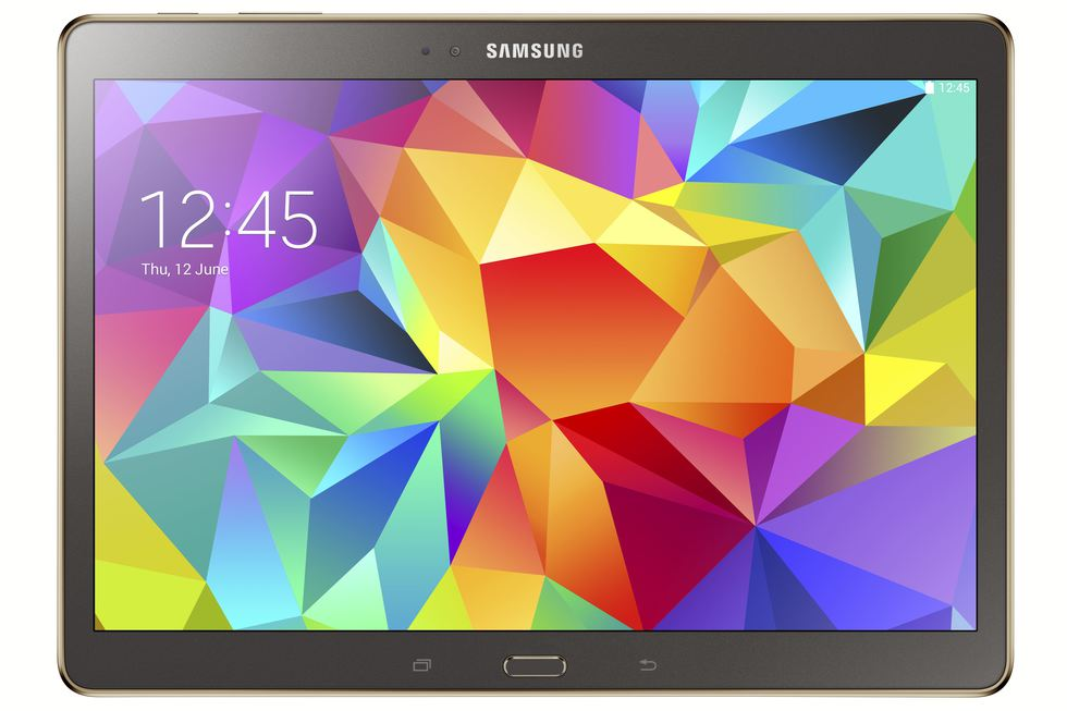 Frontal Galaxy Tab S 10.5 Negro