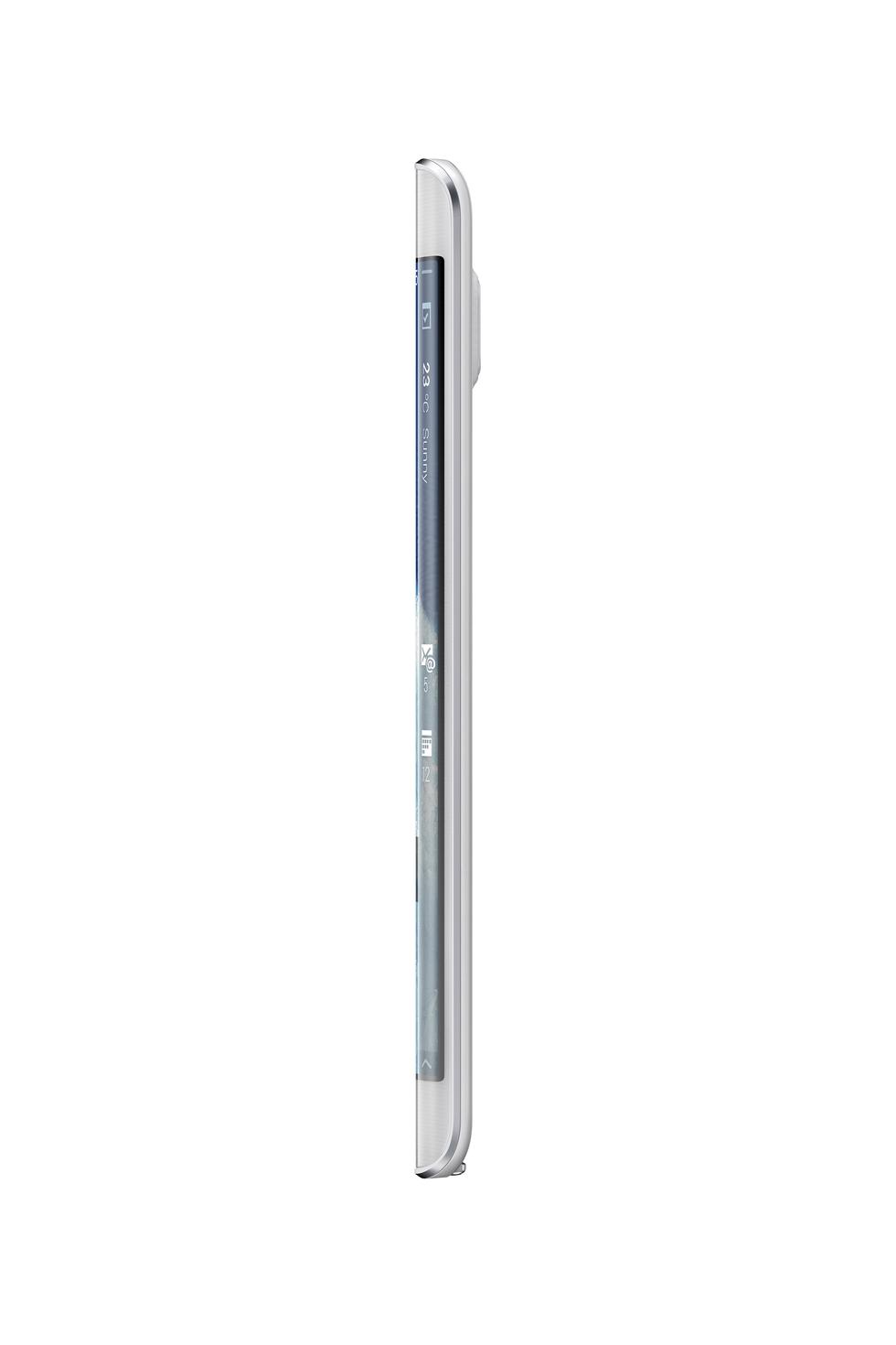 Lateral derecho del Samsung Galaxy Note Edge