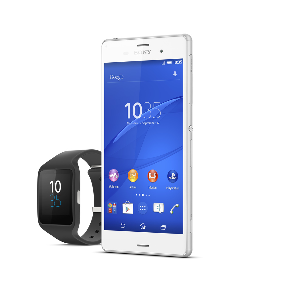 Xperia Z3 y Smartwatch 3