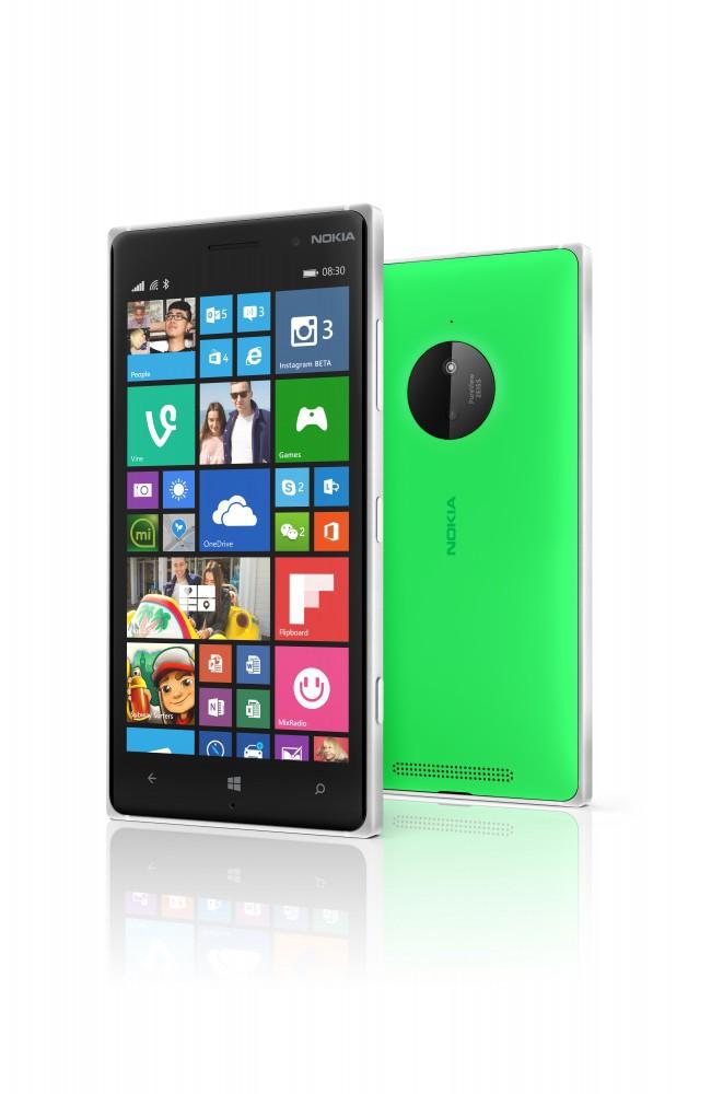 Lumia 830 en verde
