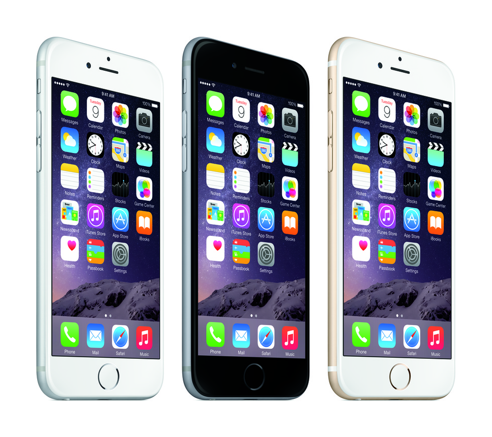 iPhone 6 Plus en varios colores