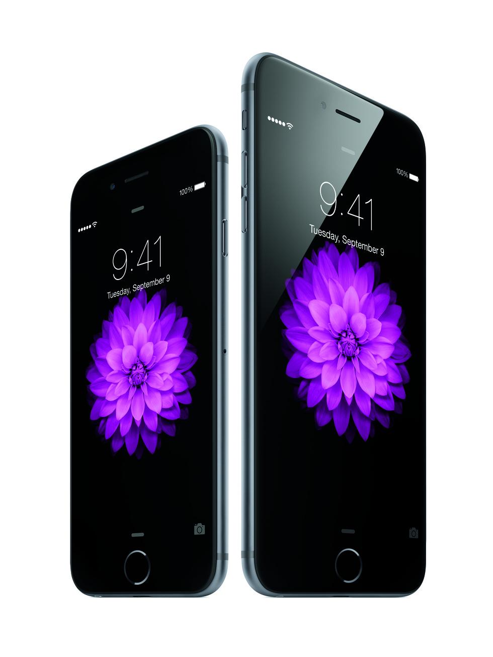 Pantalla de desbloqueo de iPhone 6 y iPhone 6 Plus
