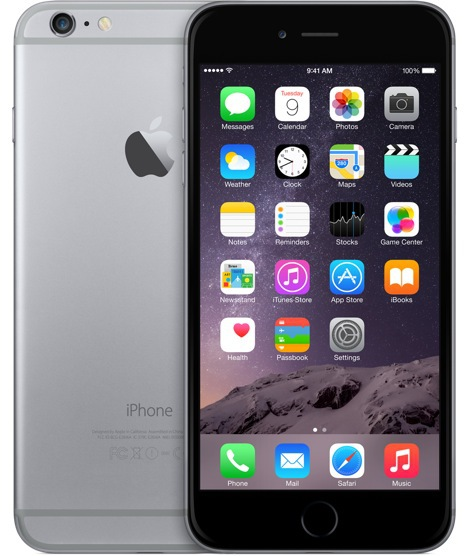 iPhone 6 Plus en color gris