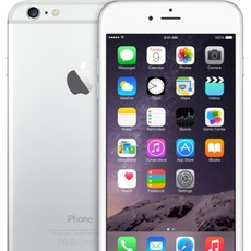 iPhone 6 Plus en color plata