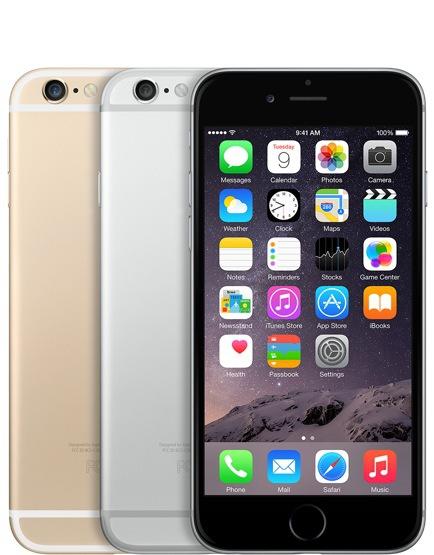 Los 3 modelos de iPhone 6