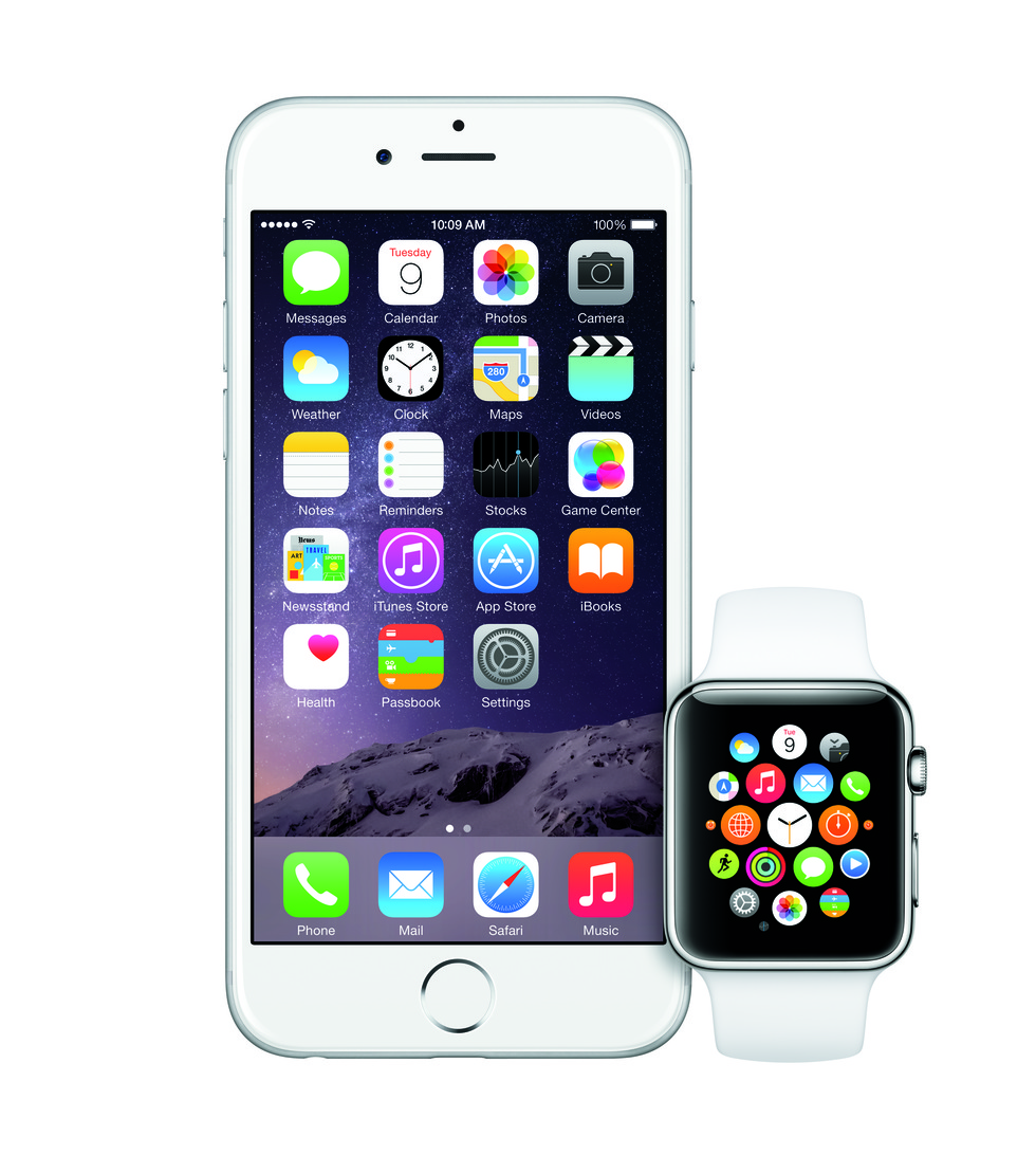 Apple Watch y iPhone 6