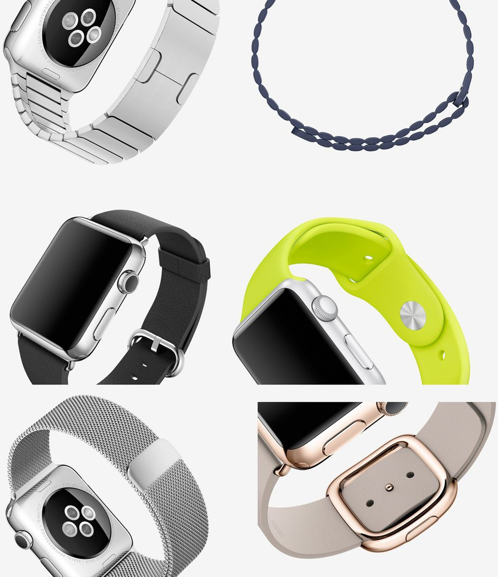 Las correas de Apple Watch