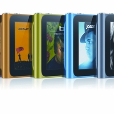 iPod Nano 6G, toda la gama de colores