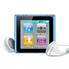 iPod Nano 6G: vista frontal