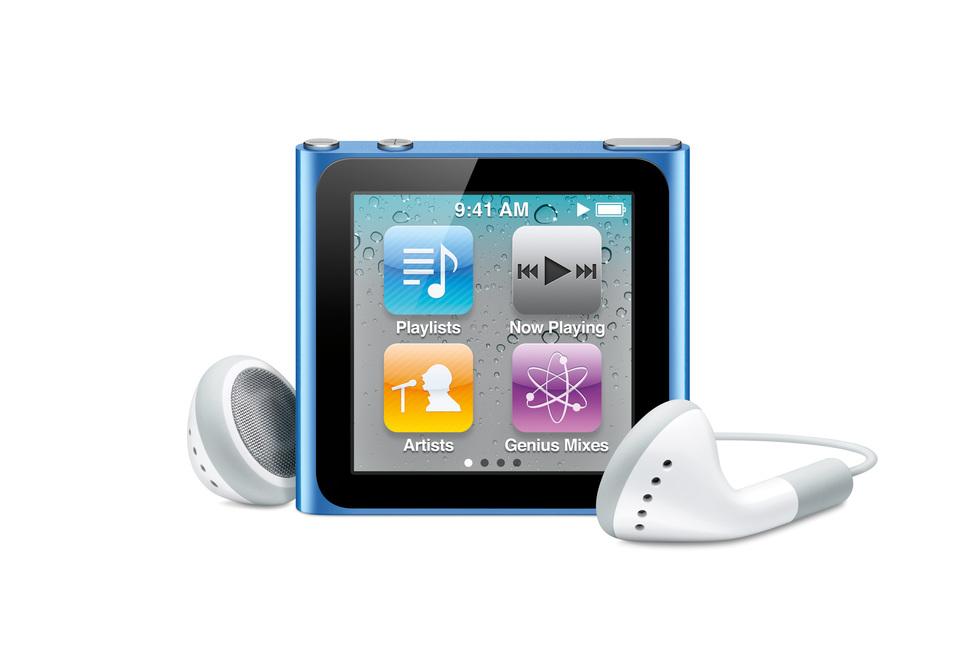 iPod Nano 6G: vista frontal