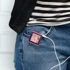 El iPod Nano 6G, con pinza